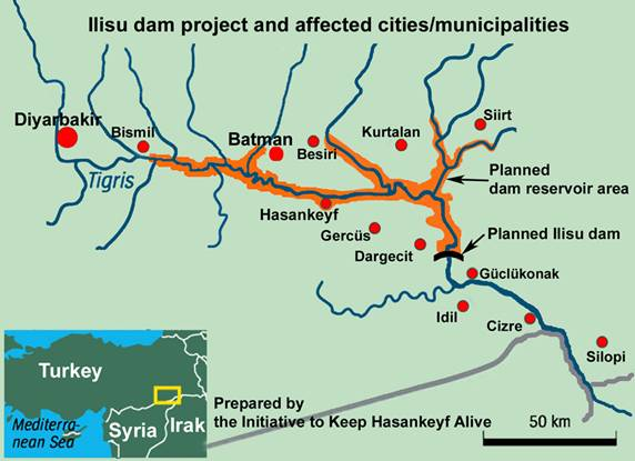 Ilisu Dam halted by Turkish Court