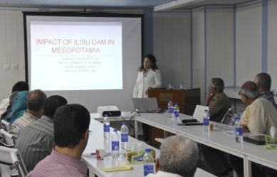 Impacts of Ilisu Dam in Iraq: A lecture at the Marine Science Center Basra University