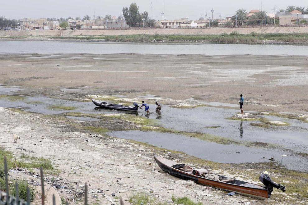 Amid Terror Attacks, Iraq Faces Water Crisis