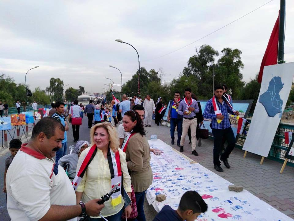 Al-Aimmah Bridge on the Tigris River: Hope for  Baghdad and its people