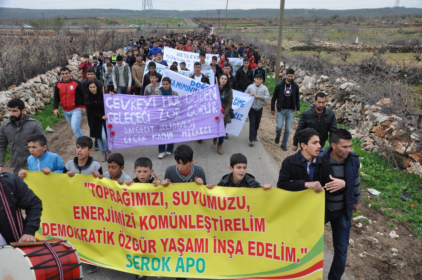 Ilisu Dam Protest Close to The Dam Site!