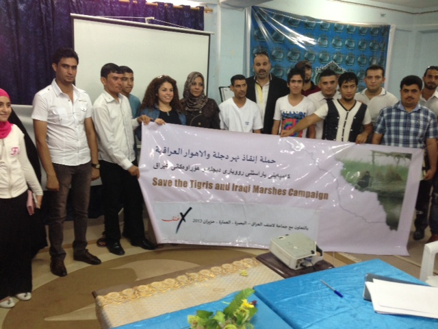 Save the Tigris Campaign holds successful seminars in four southern Iraq Provinces