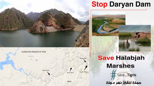 New Report Highlights the Disastrous Impact of Daryan Dam on Iraq