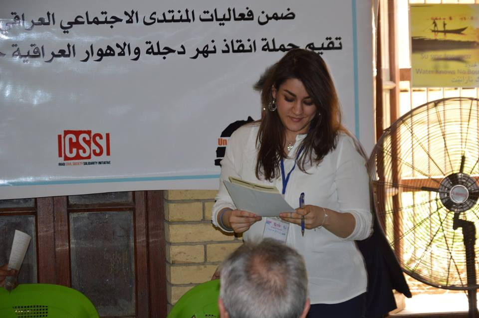 Iraqi Marshes workshop at the 3rd session of the Iraqi Social Forum