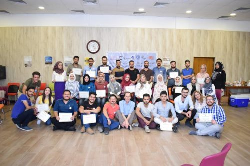 A Training for Humat Dijlah Activists in Preparation for a Regional Water Forum
