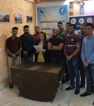 "Youth Water Activists Announce ""Euphrates Protectors"" in Nasiriyah!"
