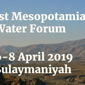 Countdown to Mesopotamian Water Forum 2019: What Are the Threats to Water Quality and River Health in the Tigris-Euphrates Basin?