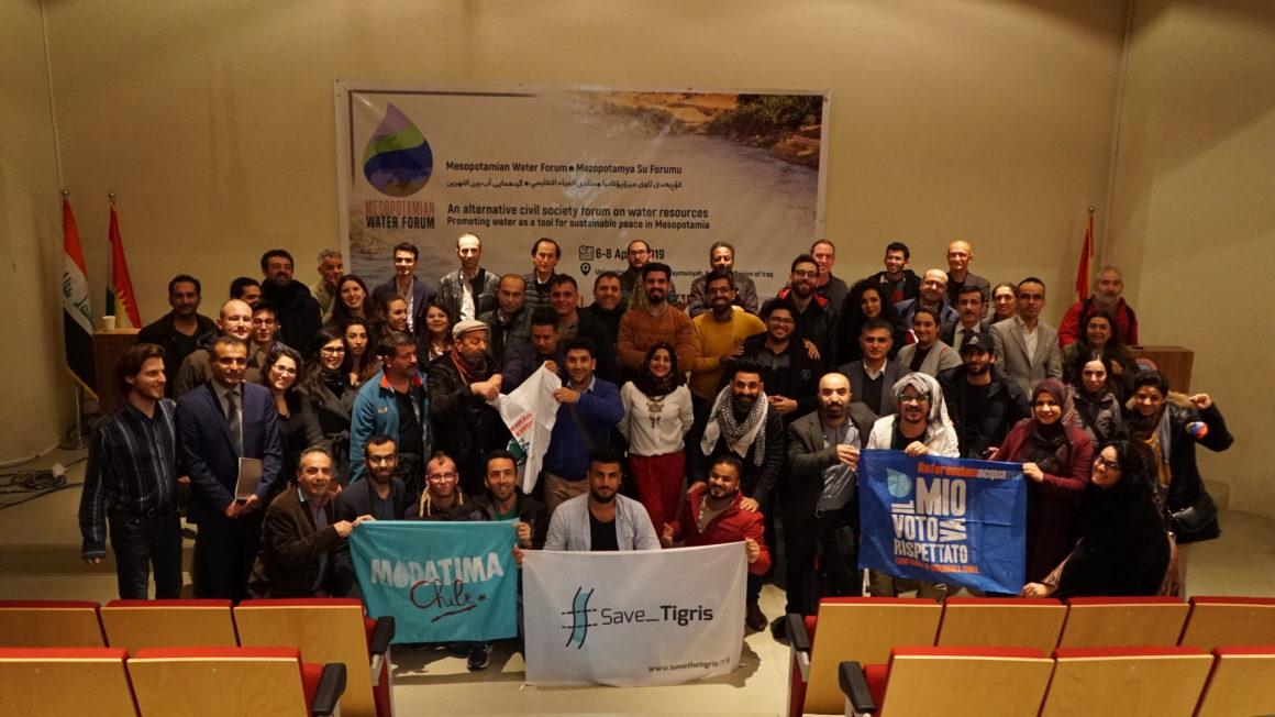 """""""Water is Under Assault in Mesopotamia"""" – Final Declaration 1st Mesopotamian Water Forum"""
