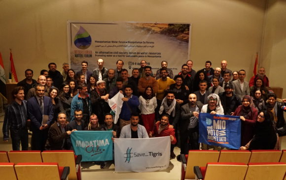 """Water is Under Assault in Mesopotamia"" – Final Declaration 1st Mesopotamian Water Forum"