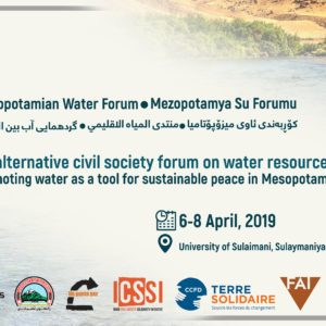 The First Mesopotamian Water Forum is Approaching – A Landmark Event!