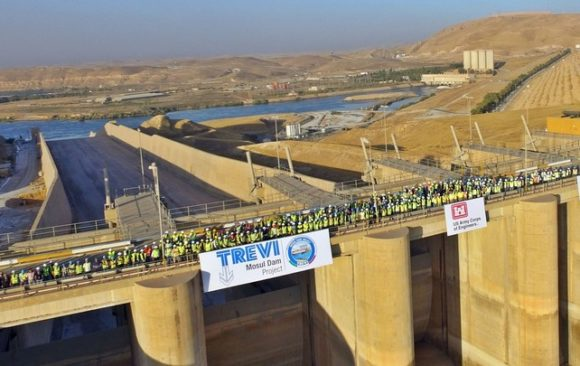 Trevi Return Mosul Dam to the Iraqi Technicians, But This Dam is Effectively a Construction Project That Never Ends
