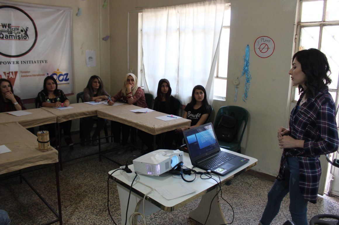 Qamishlo Activists in Syria Learn About Regional Water Security