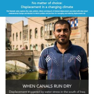 When Canals Run Dry – Displacement Triggered by Water Stress in the South of Iraq
