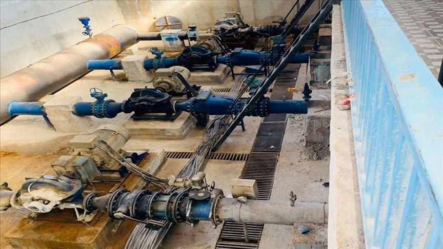 Turkey-backed forces accused of cutting water to Syrian Kurdish-run region