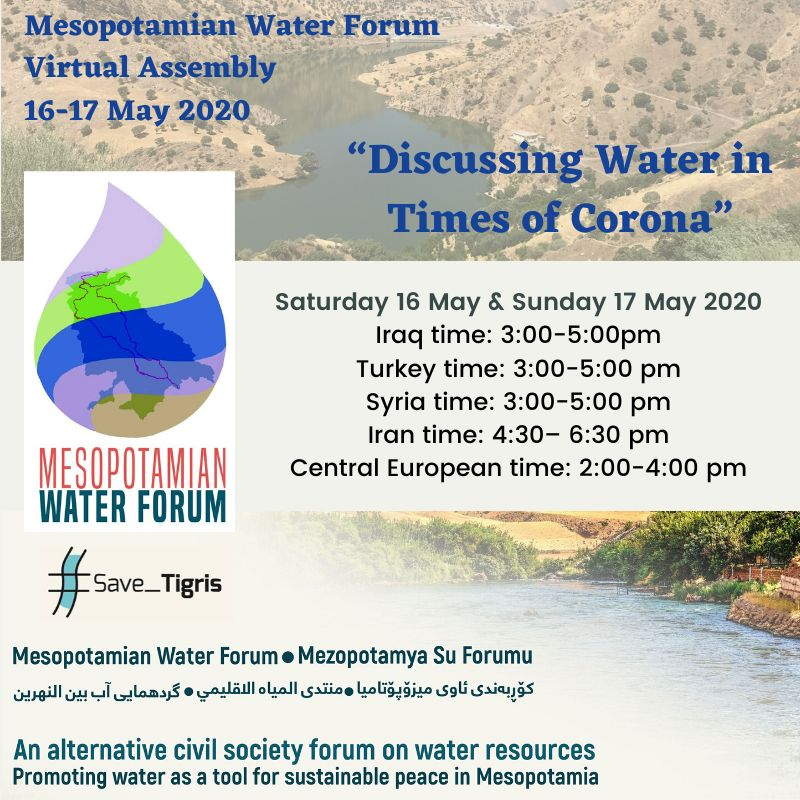 Countdown to Mesopotamian Water Forum Virtual Assembly: Local Assembly of Iran